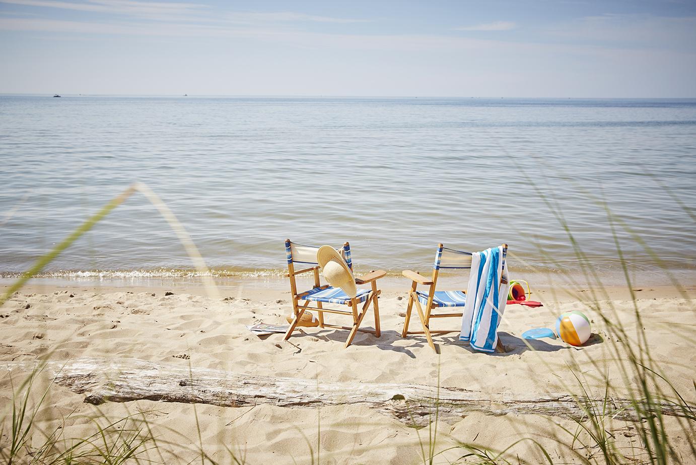 Harbor Shores, Jean Klock, Beach